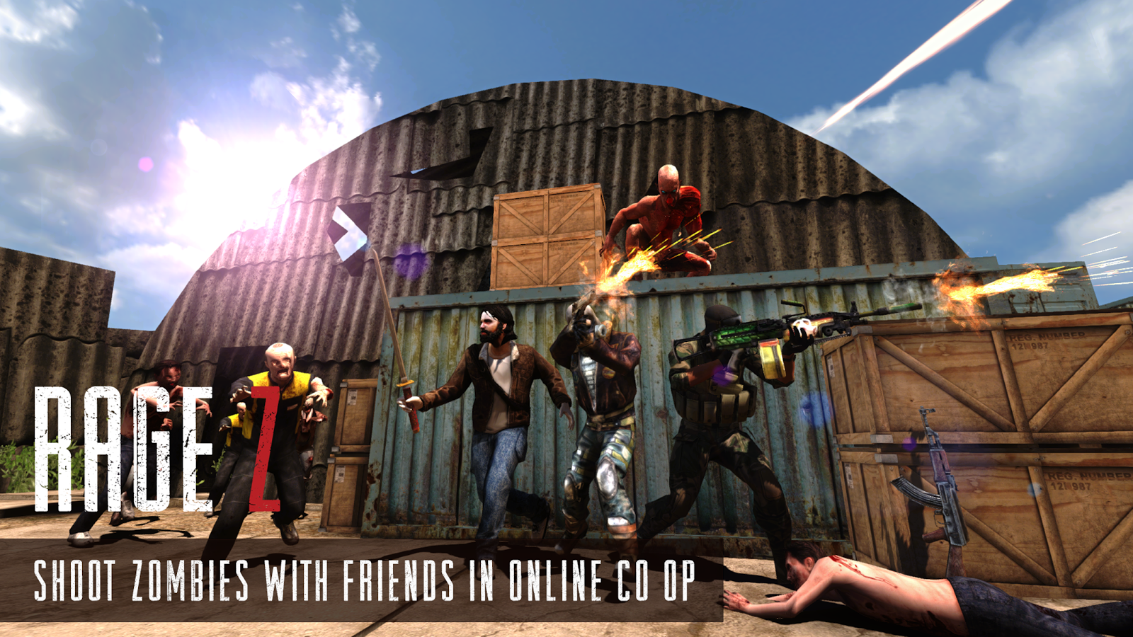 Rage Z: Multiplayer Zombie FPS Screenshot