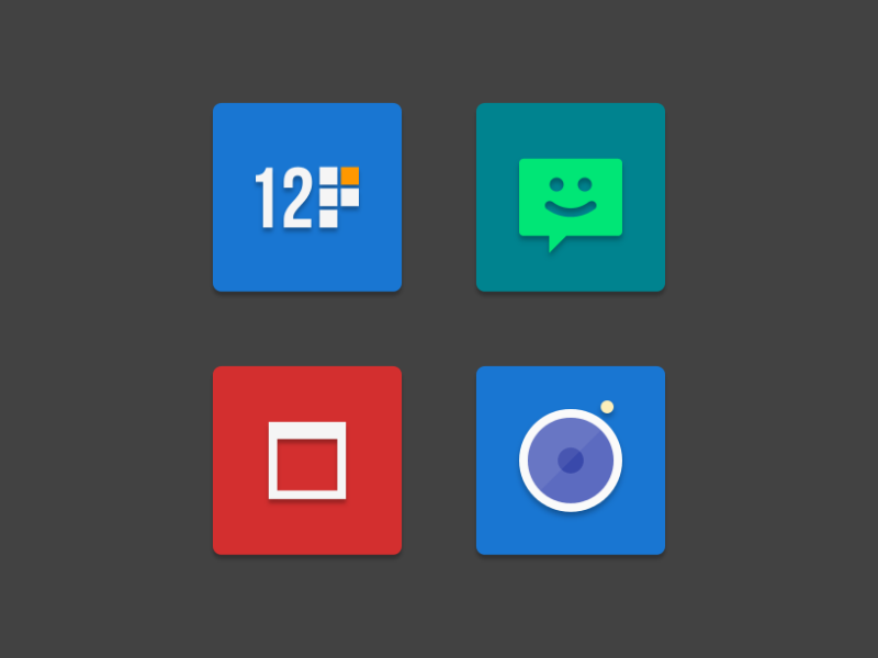NAXOS FLAT - ICON PACK Screenshot 4