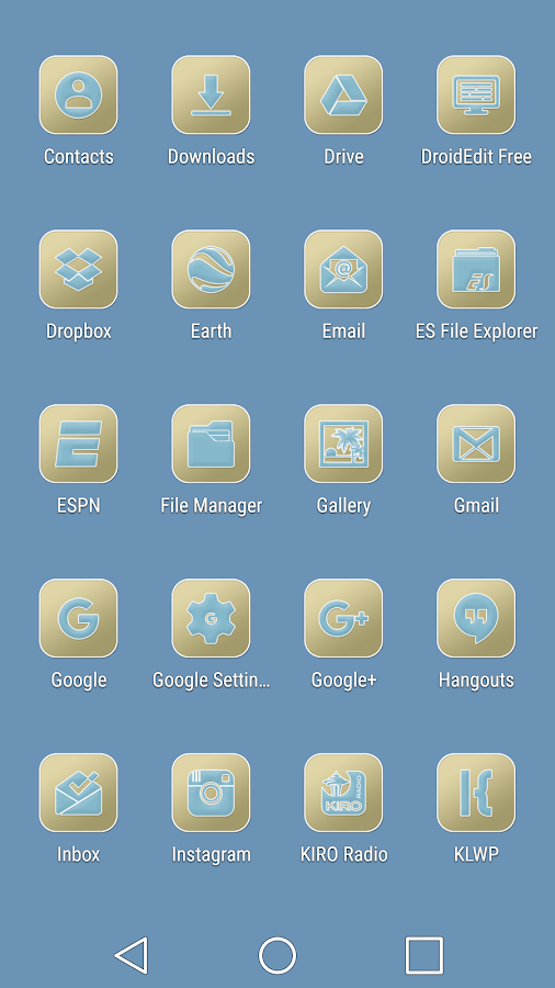 Pastel Collection 6 Icon Pack Screenshot 4