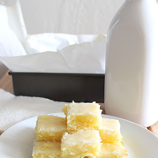 Lemon Blondies Recipes