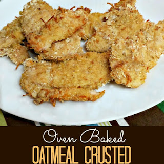 Oatmeal Crusted Chicken Tenders