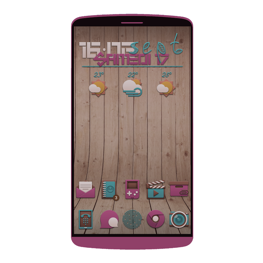 Fallies Icon pack - Chocolat Screenshot 5