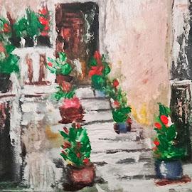 Štrada by Vanja Škrobica - Painting All Painting