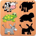 Animals Puzzles For Toddlers Icon