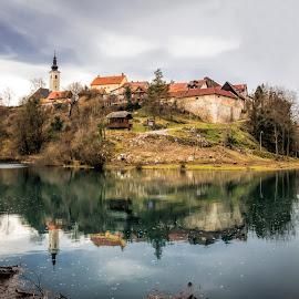 Kao odraz u vodi by Vedran Bozicevic - City,  Street & Park  Vistas ( reflection, waterscape, landscape, slunj, river )
