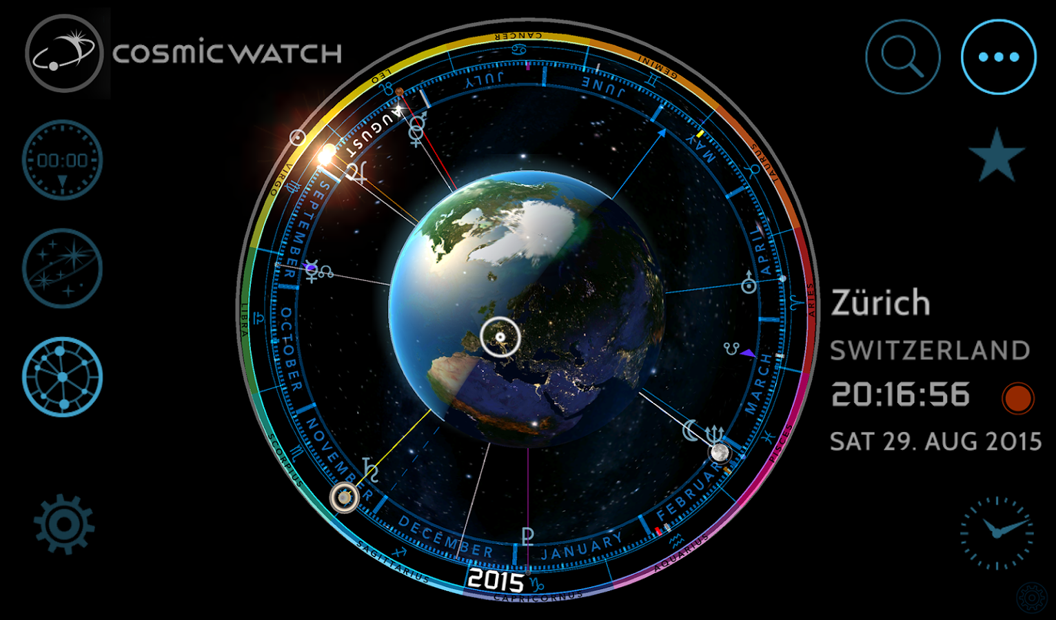 Cosmic-Watch Screenshot 18