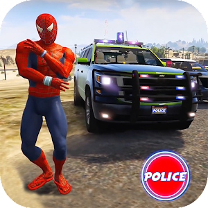 Cop Cars Superhero Stunt Simul... app for android