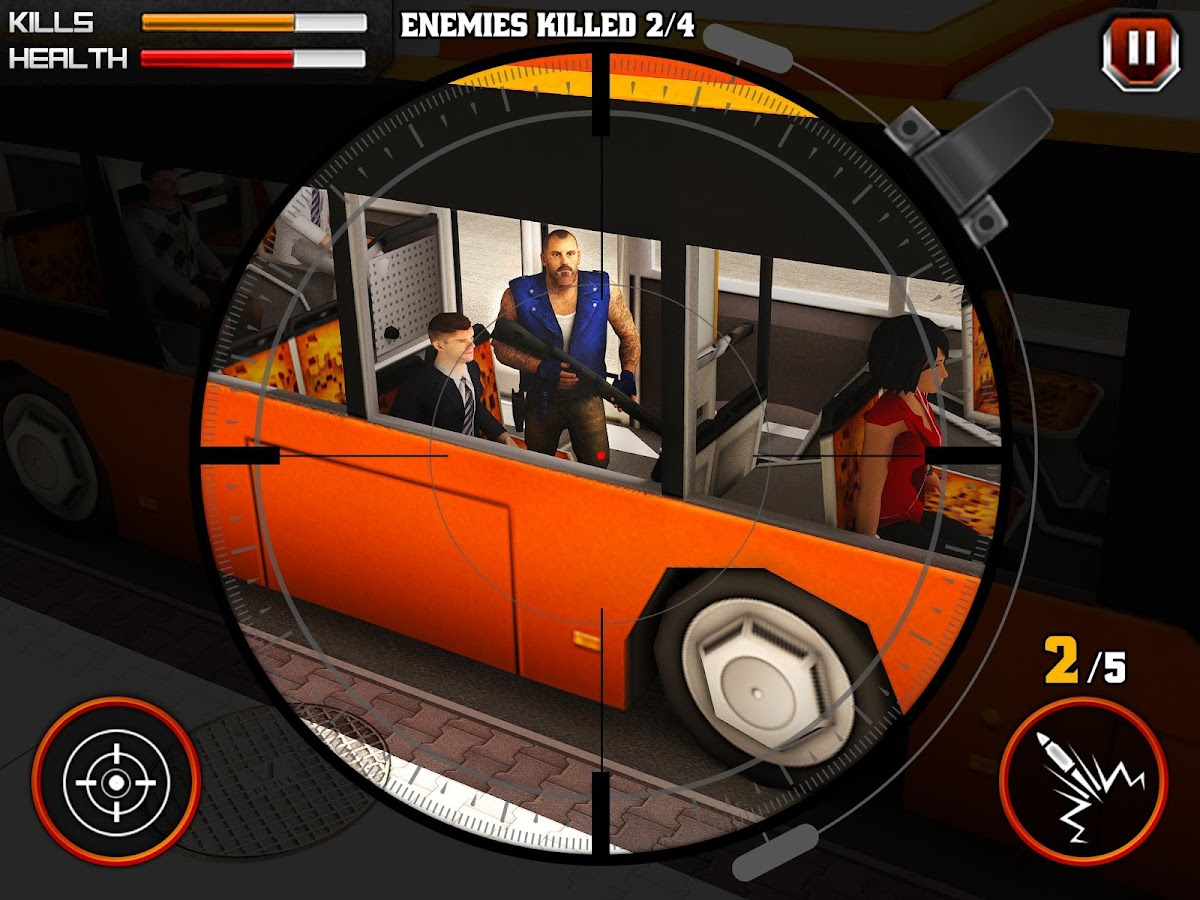 Gangster Escape Shooter 3D Screenshot 5