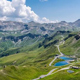 Grossglockner area of Austria's highest mountain by Linda Brueckmann - Landscapes Mountains & Hills (  )