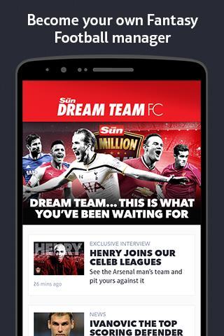 dream-team-fantasy-football for android screenshot