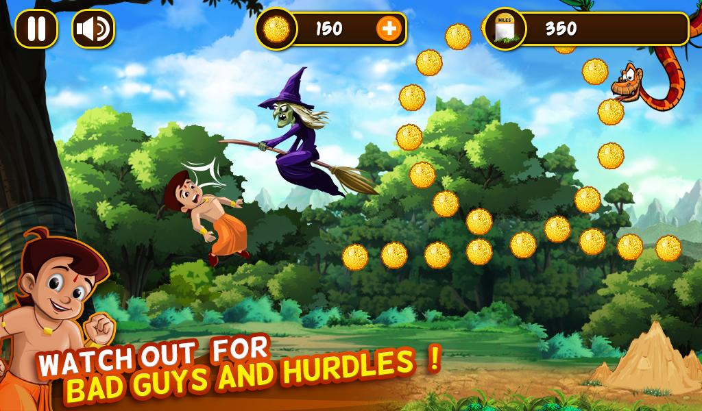 Chhota Bheem Jungle Run Screenshot 4