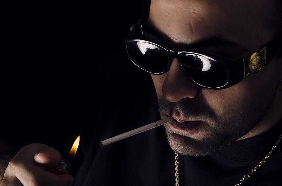 Ali / Bosnian Rapper  by Photonics Fotography - People Musicians & Entertainers ( rapper, bosnia, rap, ali king )