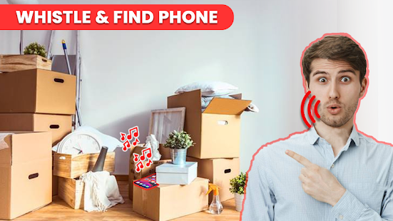 Find my phone whistle -Whistle to find your phone