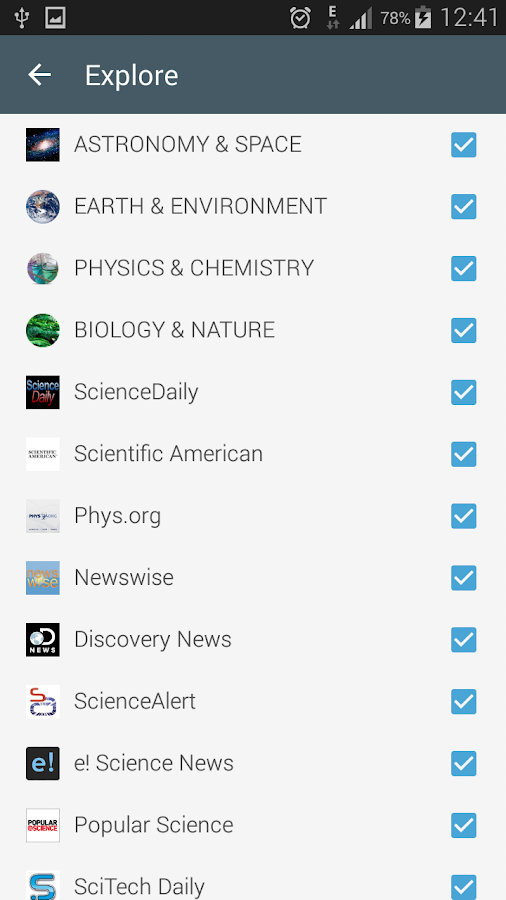 Science News Online Screenshot 7