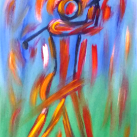 Abstract art by Zoritza Zozo Wejnfalk - Painting All Painting