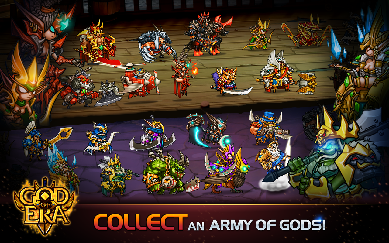 God of Era: Heroes War (GoE) Screenshot 1