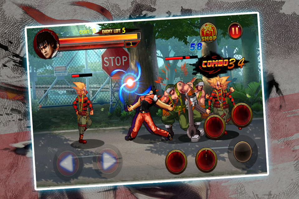 Kungfu Fighter in the street Screenshot 1
