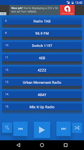 Brisbane Radio Stations - screenshot