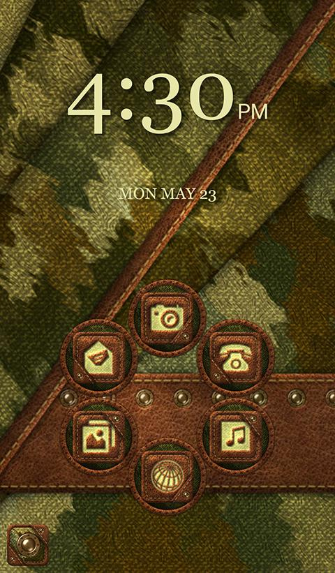 TSF NEXT NOVA CAMOUFLAGE THEME Screenshot 5