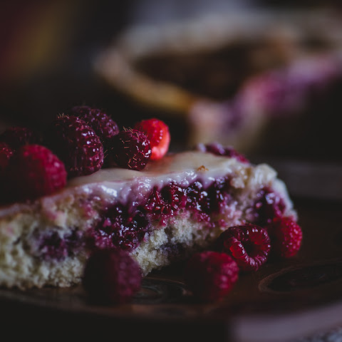 Raspberries Cake (Southern Chilean Style)