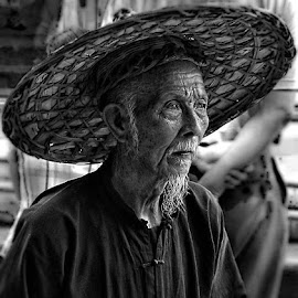 the wise man by Lito Galang - People Portraits of Men