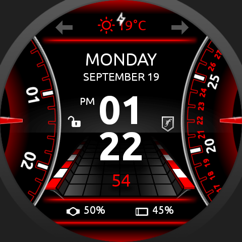 SmartDrive Watch Face Screenshot 7