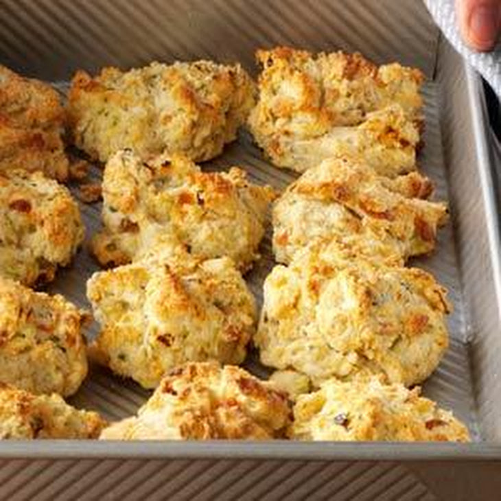Zucchini & Cheese Drop Biscuits Recipe | Yummly