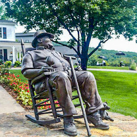 Mr. Jim Beam by Robin Stover - Buildings & Architecture Statues & Monuments