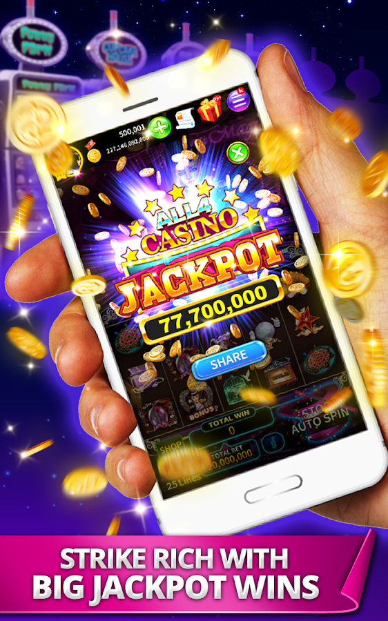 ALL4CASINO - SPIN & WIN BIG! Screenshot 1