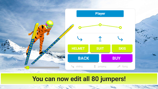 Game Ski Jump 3.53 APK for iPhone