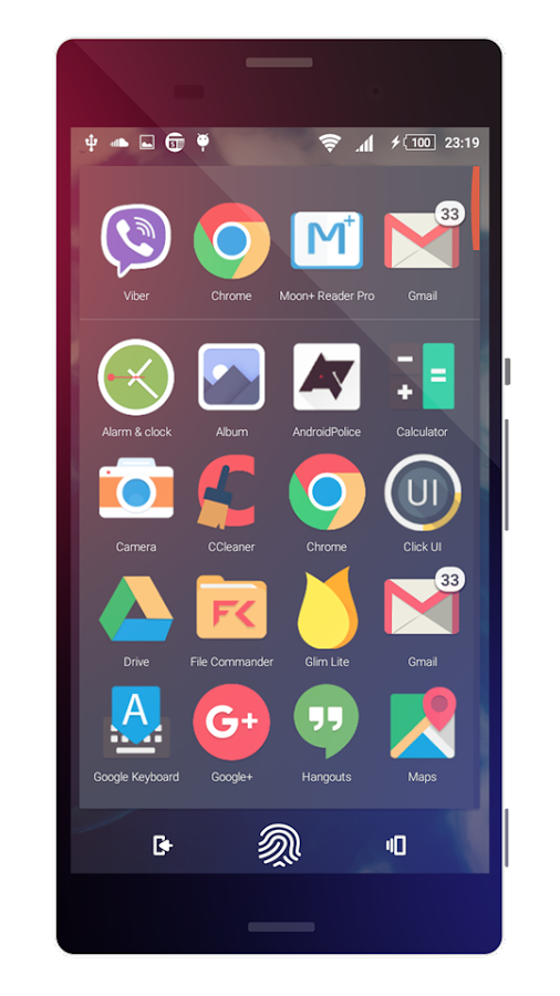 Touch | Theme for Sony Xperia Screenshot 5