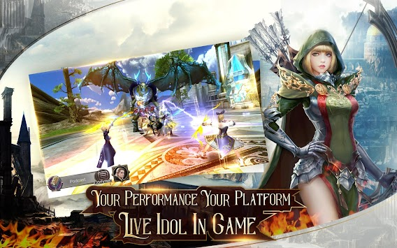 Immortal Thrones-3D Fantasy Mobile MMORPG APK screenshot thumbnail 10