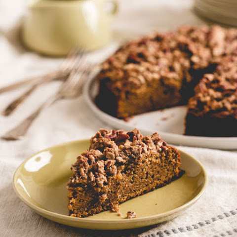 Maple Sweet Potato Coffee Cake