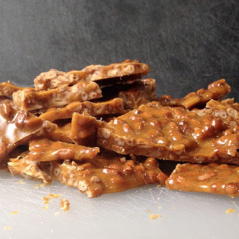 Spiced Honey Pine Nut Brittle