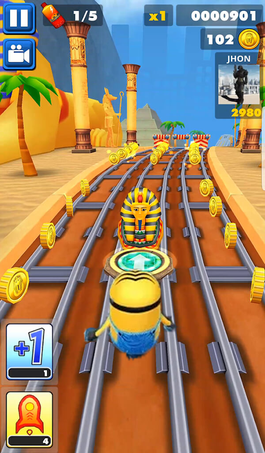 Epische Minion Bananen Rush Legends android spiele download