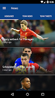 Screenshot of EPL 2014/2015