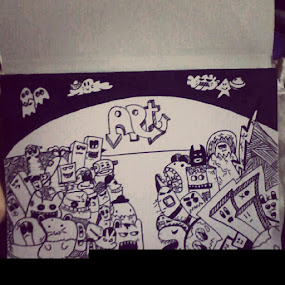 kereasi :p #doodle #art #ink by Ucie Sindunata - Instagram & Mobile Instagram