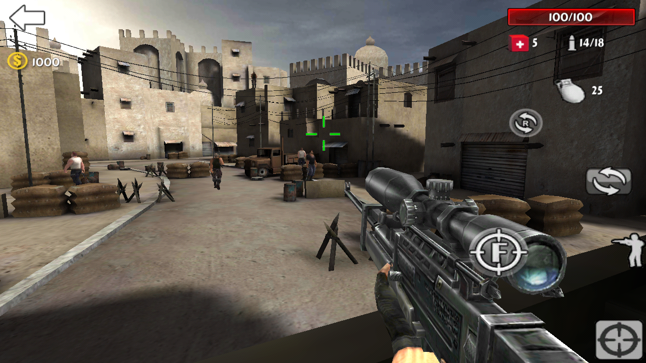 Sniper Killer War Screenshot 14