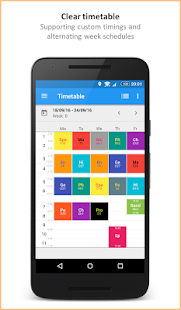 SchoolManager: Timetable - screenshot