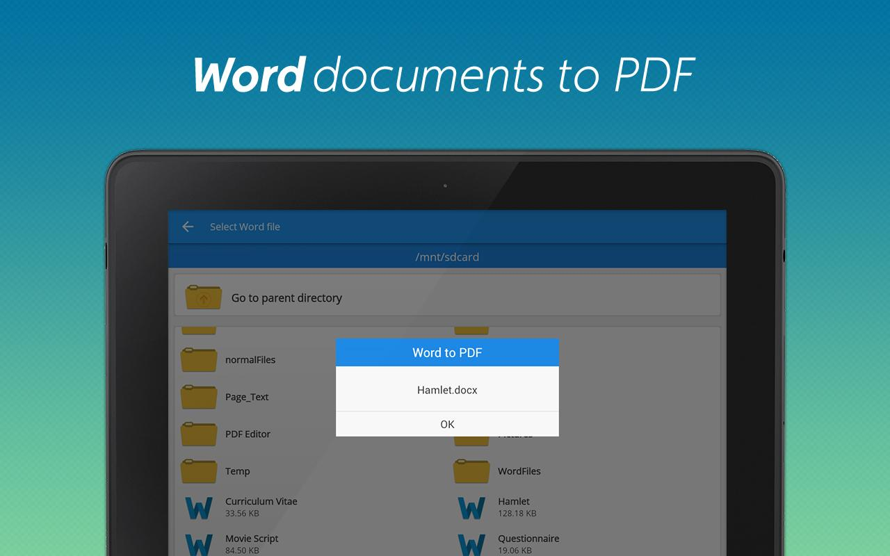 PDF Editor and PDF Converter Screenshot 9