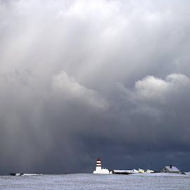 Alnes fyr by Per Alnes - Landscapes Cloud Formations