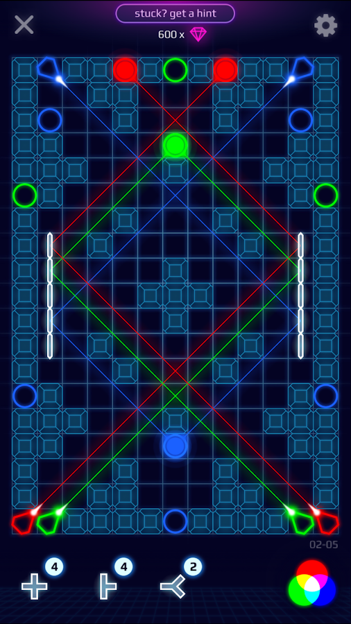Laser Dreams - Brain Puzzle Screenshot 2