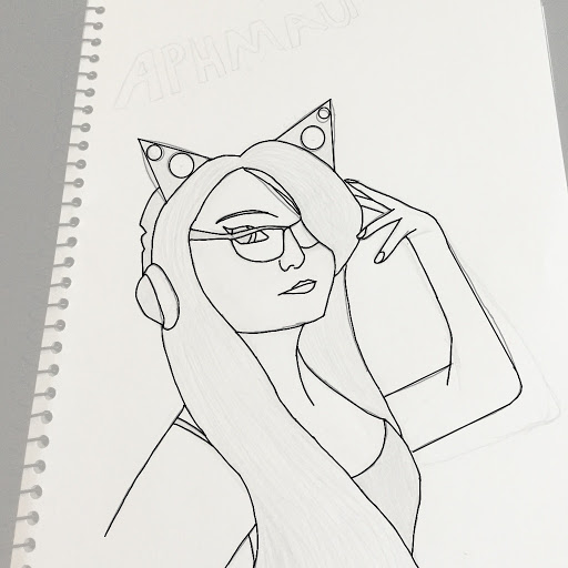 Aphmau irl by hrhgina for Blueprint sketch app