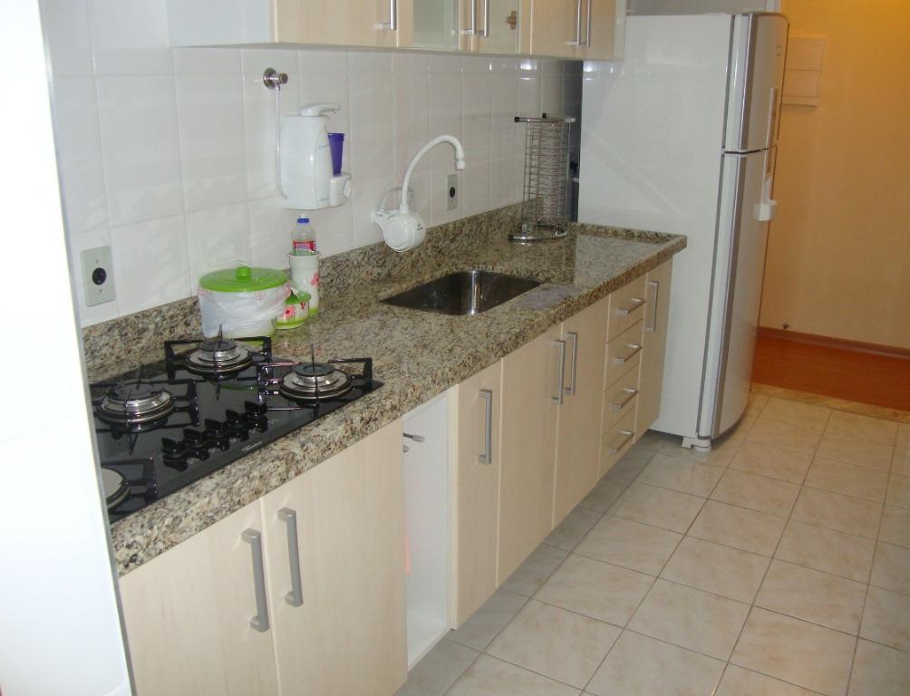 Apartamento com 2 dormitórios à venda ou locação, 64 m² -Mobiliado - Cond. Vila Progresso - Vila Agrícola - Jundiaí/SP