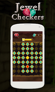 Jewel Checkers - screenshot
