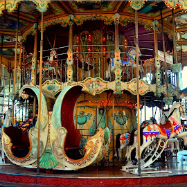 merry go round by Nic Scott - Artistic Objects Other Objects ( ride, merry go round, carousel )