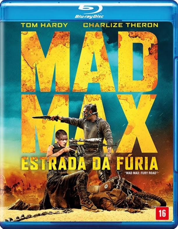 Filme Poster Mad Max: Estrada da Fúria BDRip XviD Dual Audio & RMVB Dublado