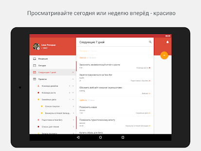 Todoist: Список задач Screenshot