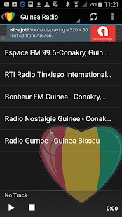 Guinea Radio Music & News - screenshot