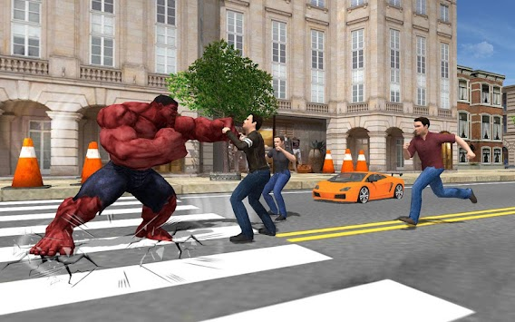 Monster Bulk Hero: City Battle apk screenshot